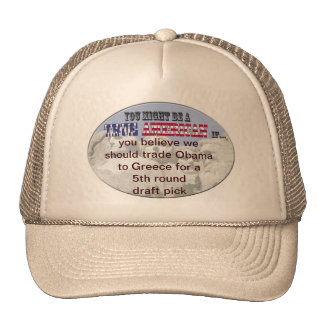 obama 5th round draft pick trucker hat