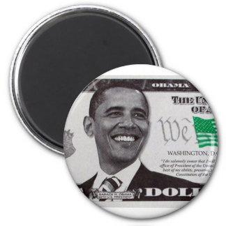 obama 9 Dollar Bill Magnet