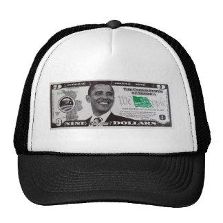 obama 9 Dollar Bill Trucker Hat