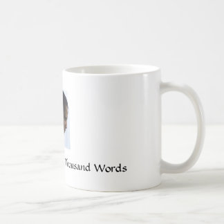 Obama, A Picture Is Worth A Thousand Words Classic White Coffee Mug
