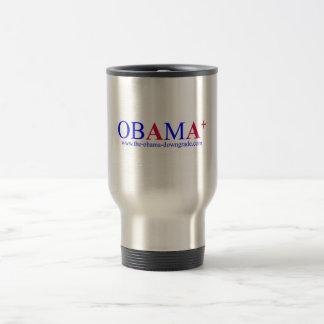 Obama AA+ Downgrade Travel Mug