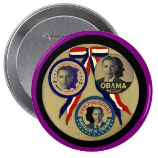 Obama, Abe, FDR & JFK Button