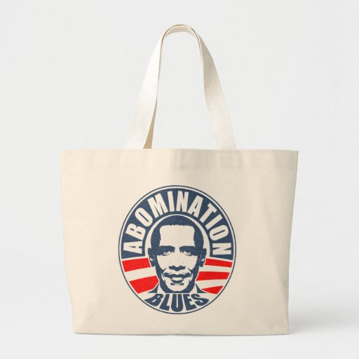 Obama Abomination Blues Canvas Bags