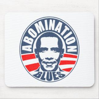 Obama Abomination Blues Mousepad