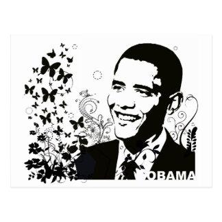 Obama Abstract Postcard