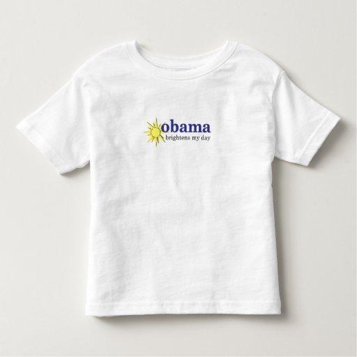 Obama aclara los días de mis niños playera de niño