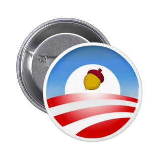 Obama Acorn Pinback Buttons