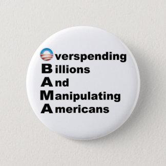 Obama Acrostic Button