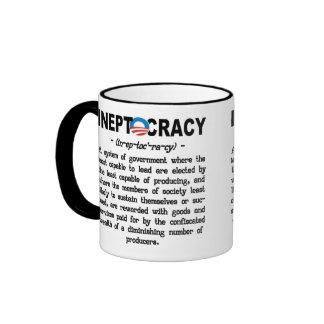 Obama Administration Ineptocracy Definition Mug