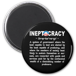 Obama Administration Ineptocracy Kitchen Magnet