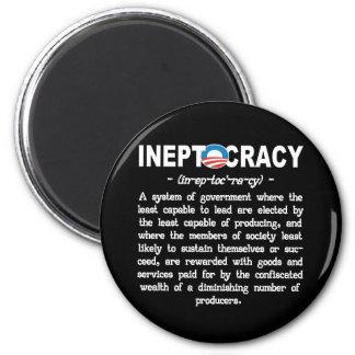 Obama Administration Ineptocracy Kitchen Magnet