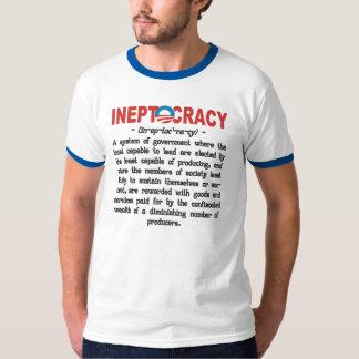 Obama Administration Ineptocracy Shirt