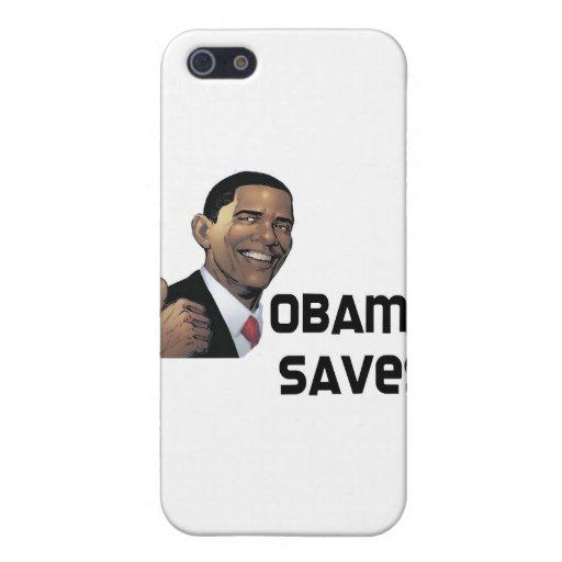 Obama ahorra iPhone 5 funda