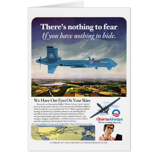 Obama Airways Card