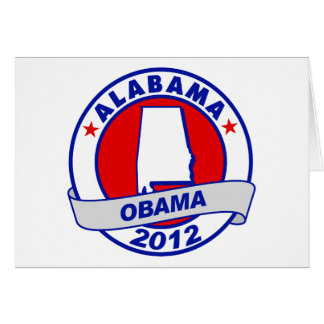 Obama - Alabama Card