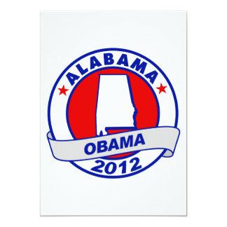 Obama - Alabama 5x7 Paper Invitation Card