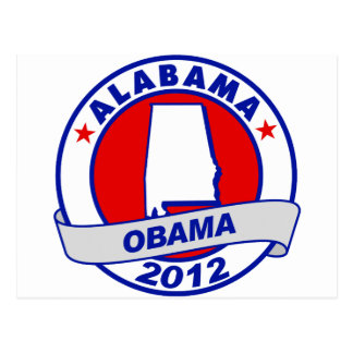 Obama - Alabama Postcard
