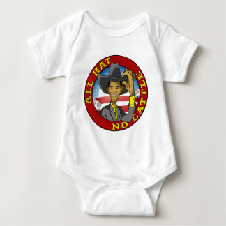 Obama All Hat No Cattle Baby Bodysuit