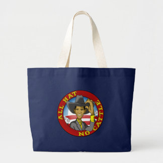 Obama All Hat No Cattle Canvas Bag