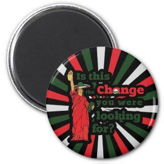 Obama ama a Illegals Imán Redondo 5 Cm