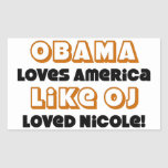 ¡Obama ama América como Nicole amada DO! Etiquetas