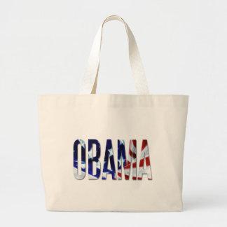 Obama America Flag Canvas Bag