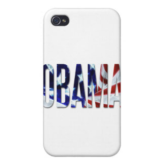 Obama America Flag Case For iPhone 4