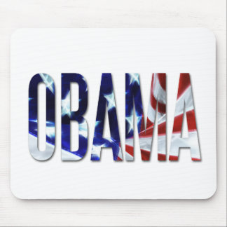 Obama America Flag Mousepads