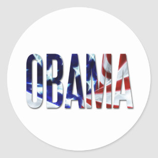 Obama America Flag Stickers
