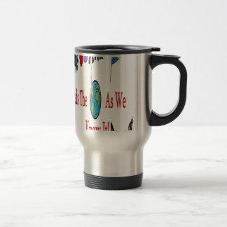 Obama and Americans Travel Mug