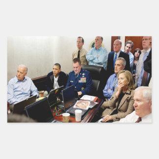 Obama and Biden await updates on bin Laden Sticker