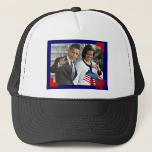 94f9c6fd441 obama and first lady trucker hat