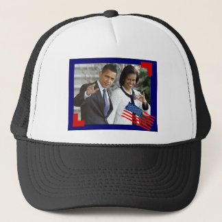 obama and first lady trucker hat