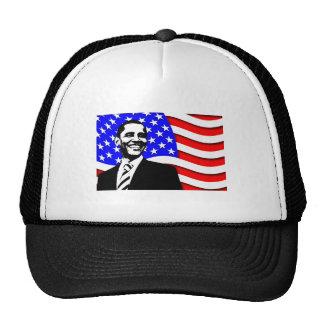 Obama And Flag Hat