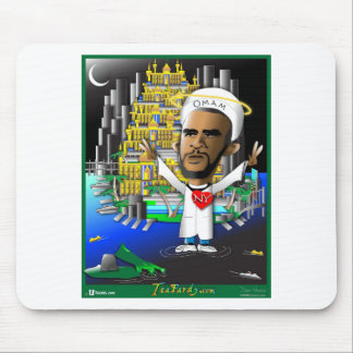 Obama and Freedom Mouse Pad