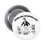 Obama and the Republicans Pinback Buttons