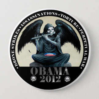 Obama: Angel of Death Button