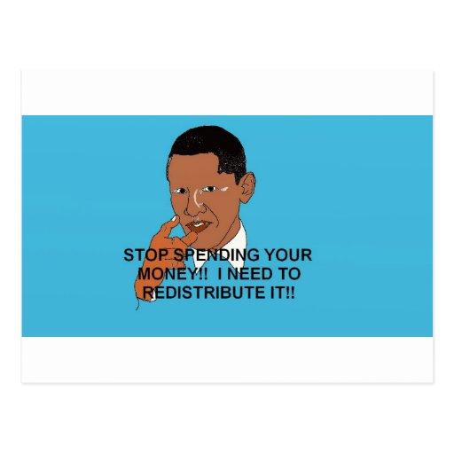 Obama anti 2012 elecciones presidenciales postal