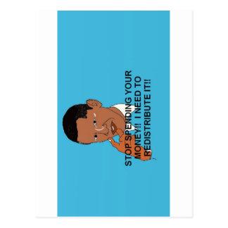 Obama anti 2012 elecciones presidenciales tarjetas postales