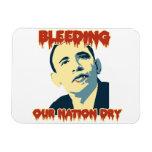 Obama anti 2012 imanes rectangulares