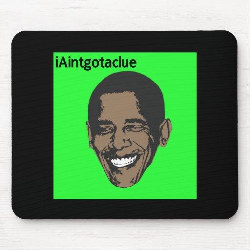 Obama anti alfombrillas de ratón