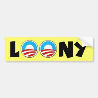 Obama anti etiqueta de parachoque