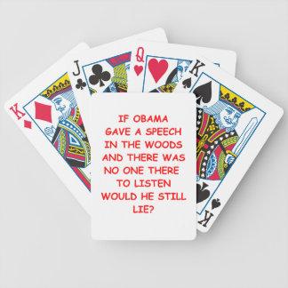 obama anti baraja cartas de poker