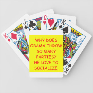obama anti cartas de juego