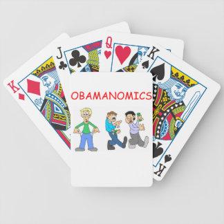 obama anti barajas de cartas