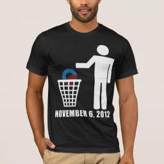 Obama anti - elección 2012 playera