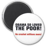 Obama anti imán redondo 5 cm