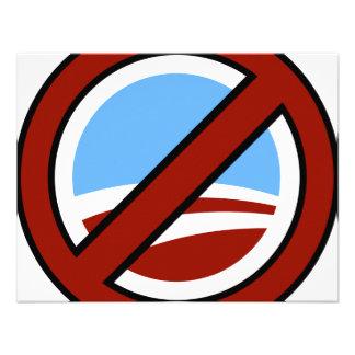 Obama anti invitación personalizada