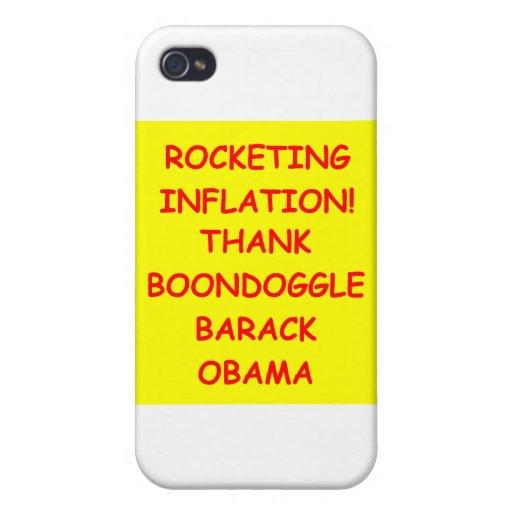 obama anti iPhone 4 cárcasas