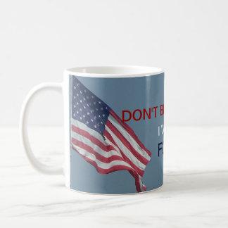 Obama anti no me culpa voto de I por Ron Paul Taza Básica Blanca